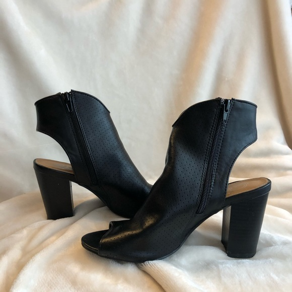 new directions Shoes - Laurel Peep Toe booties for fall - New Direction